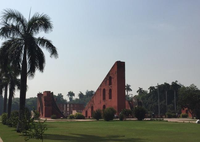 The grounds at Jantar Mantar.