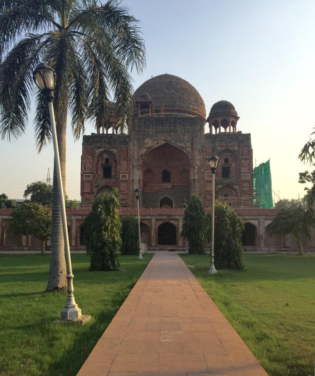 Crumbling Khan-I-Khanan's Tomb. I don't think anyone comes here.