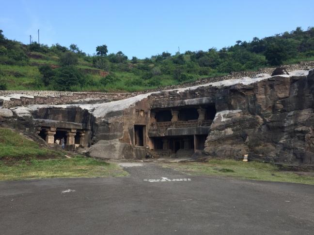The Jain Cave Area
