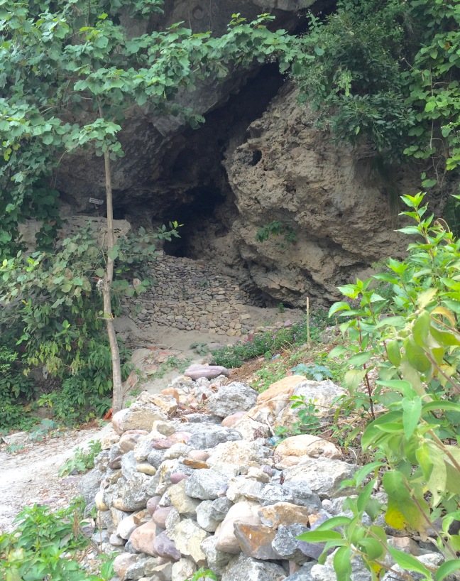 The path to Arundhati Cave