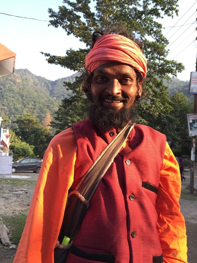 The delightful Raja Baba.