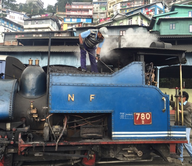 The Steam Engine.