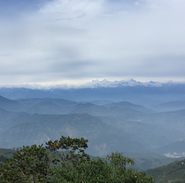 These mountains...