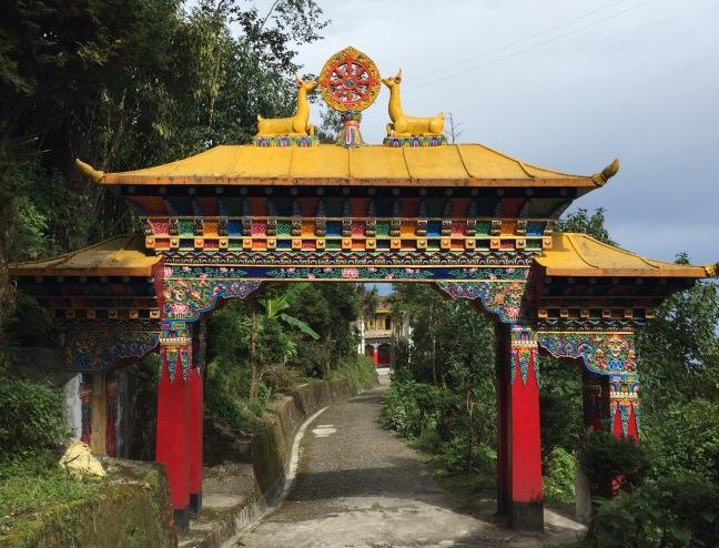 Entrance to the monastary.