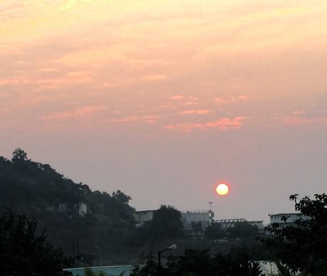 Beautiful dawn.