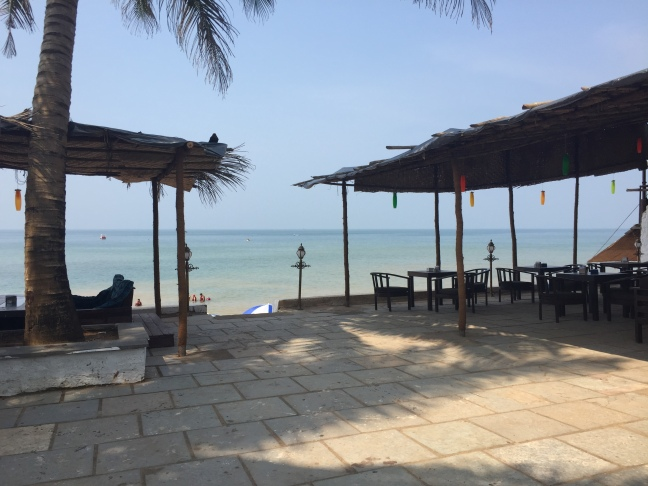 Lunch spot in Anjuna