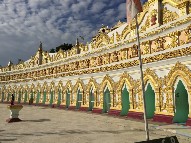 Hilltop temple at Sagaing Hill.