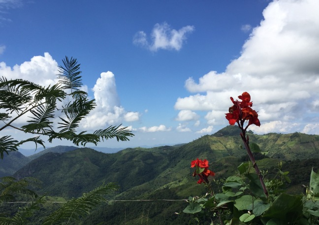 The hills of Kalaw.