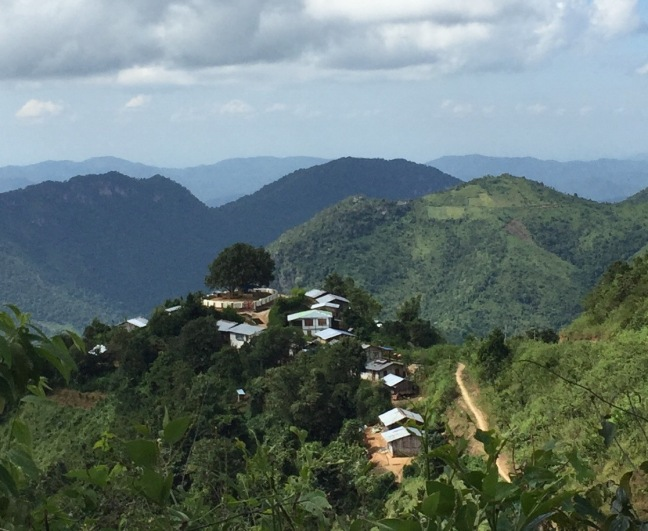 Small village in the hills, home to about 50 families.