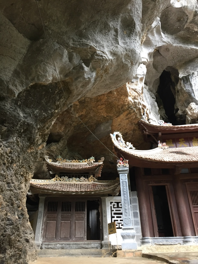 Bich Dong, a trio of 18th Century Pagodas, this one situated at the entrance of a large cave.