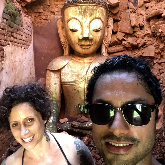 ...and the obligatory selfie-with-Buddha.