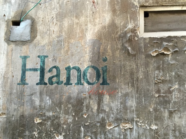 The entrance to Hanoi House... a very cute cafe on the 2nd floor of an old colonial house that is nearly impossible to find. As is typical in Vietnam, a tight unmarked alleyway leading away from the street often takes you somewhere amazing.