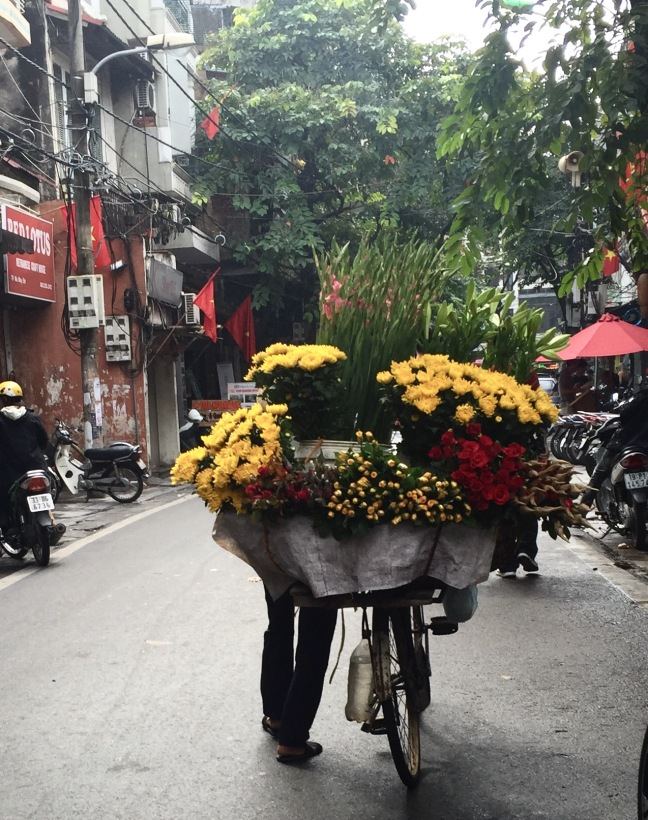 Flowers for sale.