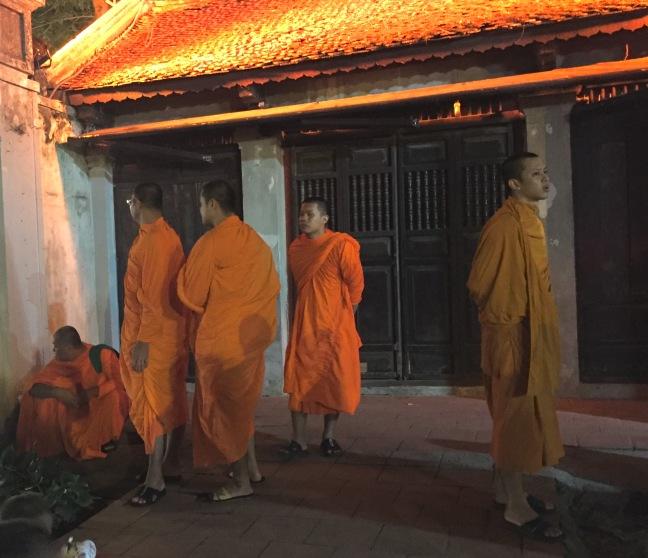 Monks in Orange.