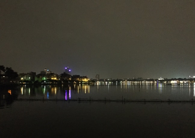 This is West Lake, where I spent my final two nights in Vietnam.