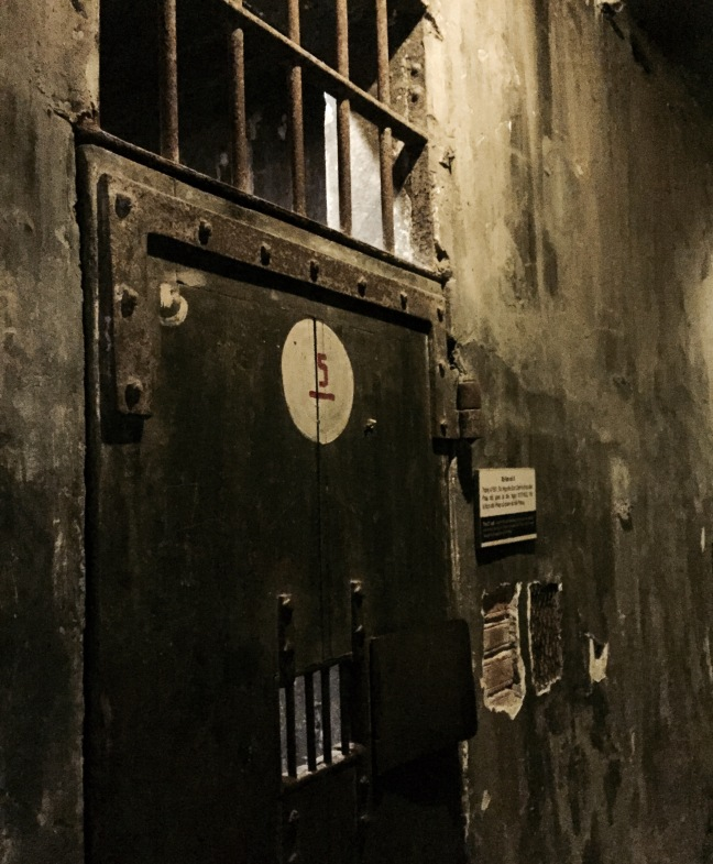 A horrific piece of history: Inside Hoa Lo, a prison built in the late 1800's by the French for political prisoners and used again for prisoners of war in the Vietnam War.