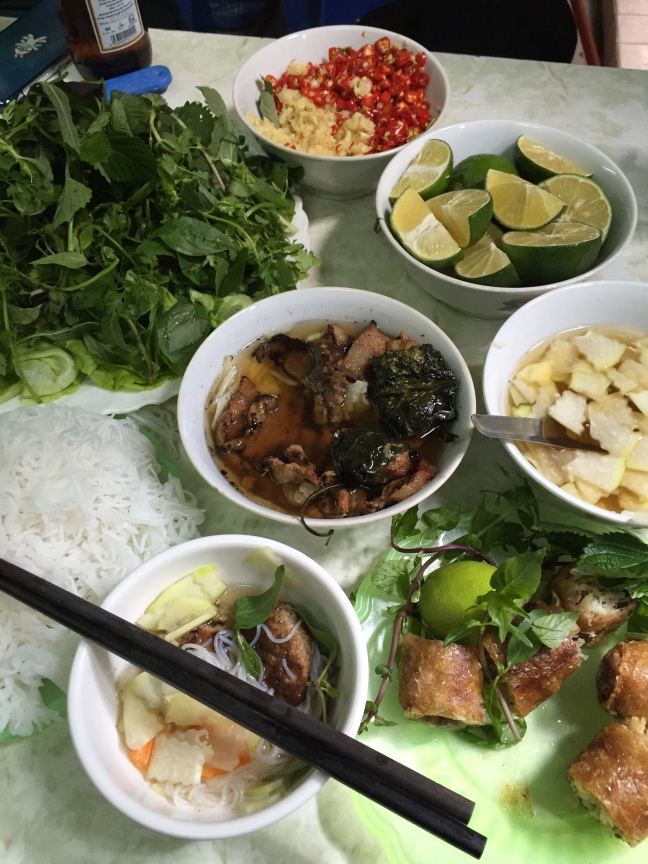 For what equated to about $2, this meal was huge and outrageously good. Bun Cha is a popular Vietnamese dish and the only thing this place serves... but they do it well.