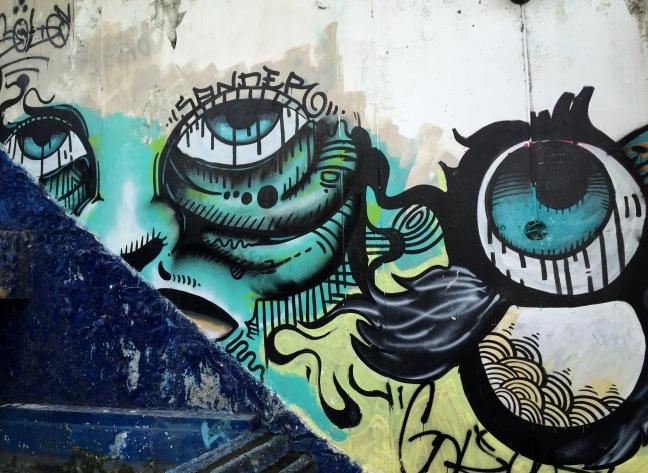 Street art. Iquitos, Peru