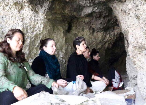 We've not quite reached the enlightened yogi status yet, but we are meditating in a cave in the Himalayas
